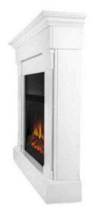 slim profile fireplace
