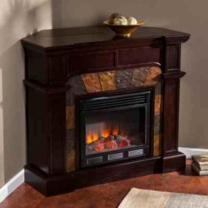 Corner Electric Fireplace Review SEI Cartwright Convertible