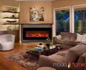 Moda Flame Living Room