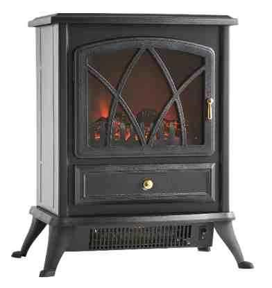 VonHaus Portable Electric Stove Fireplace Review