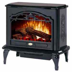 Black Dimplex Celeste Electric Stove