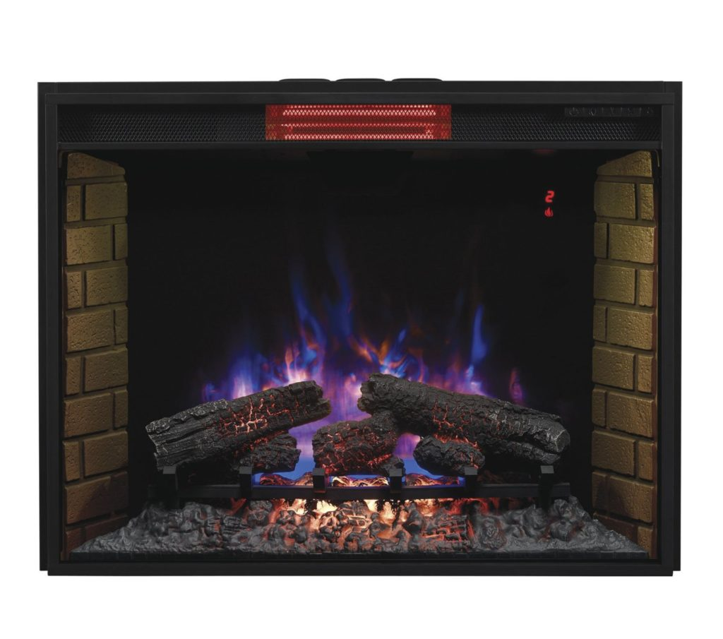 Infrared Electric Fireplace Heater Insert Review | ClassicFlame 33II310GRA 33""