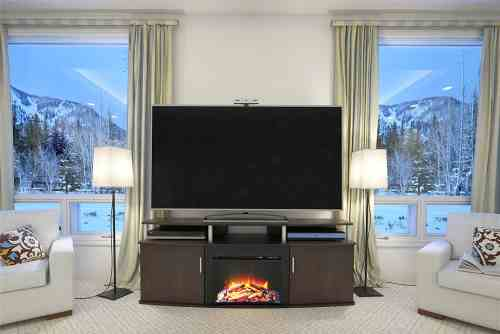 "Altra Furniture Carson Fireplace TV Console, 70"" Review"