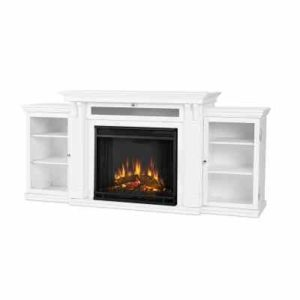 Real Flame Calie Electric Fireplace TV Stand