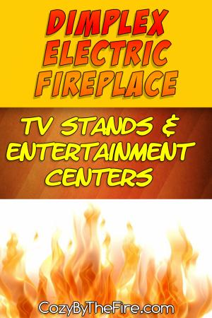 dimplex electric fireplace entertainment center