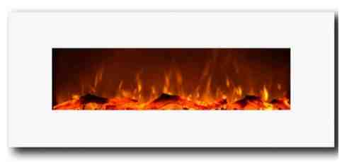 White Electric Fireplace Review