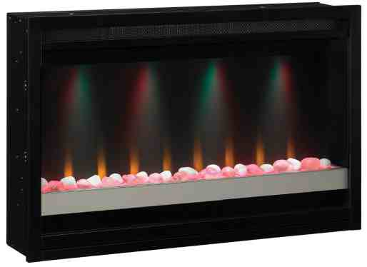 """ClassicFlame 36"""" Contemporary Built-in Electric Fireplace Insert"""