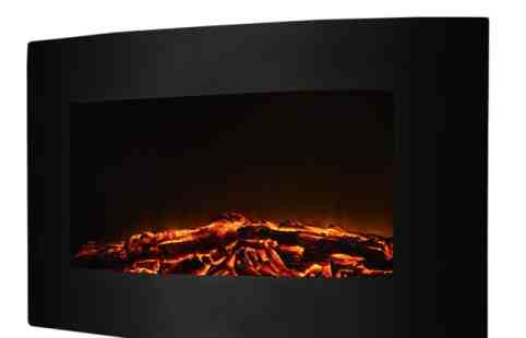 Giantex Large Electric Wall Mount Fireplace Heater Review