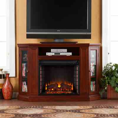 Claremont Convertible Electric Fireplace TV Stand Review
