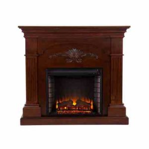 SEI Sicilian Harvest Electric Fireplace, Mahogany review