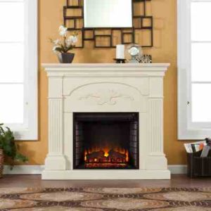 SEI Sicilian Harvest Electric Fireplace, Ivory review