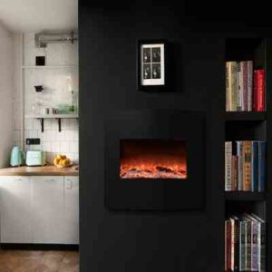 Wall Mounted Electric Fireplace Review
